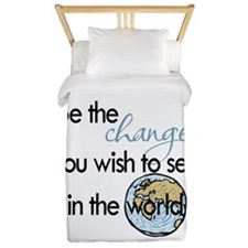 Be the change2 Twin Duvet