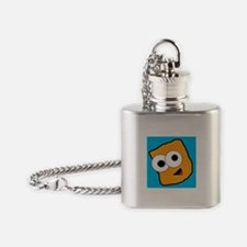 Cute Tater Flask Necklace