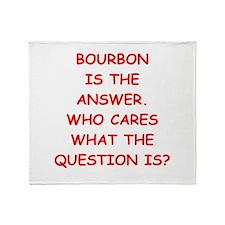 bourbon Throw Blanket