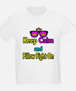 Crown Sunglasses Keep Calm And Pillow Fight On Kid