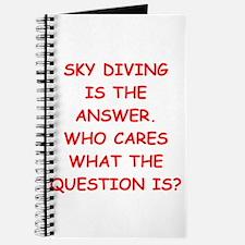sky diving Journal