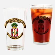 COA - 1st ADA Regiment Drinking Glass
