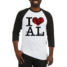 I Love bAL-lin Baseball Jersey