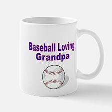 Baseball Loving Grandpa Mug