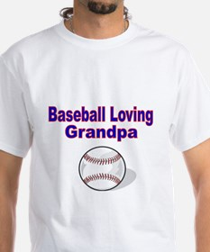 Baseball Loving Grandpa T-Shirt