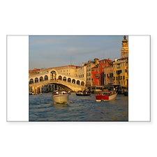 Venice Italy, Rialto Bridge photo- Decal