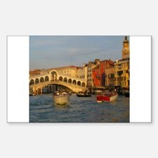 Venice Italy, Rialto Bridge photo- Decal