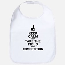 Keep Calm & Take the Field Bib