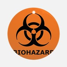 biohazard Ornament (Round)
