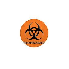biohazard Mini Button