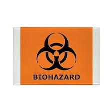 biohazard Rectangle Magnet