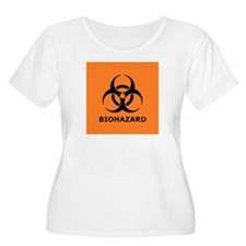 biohazard Plus Size T-Shirt