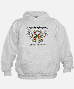 Supporting My Daughter Autism Hoodie