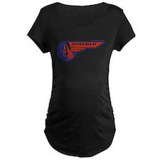 Mohawk Motorcycles Maternity T-Shirt