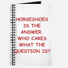 horseshoes Journal