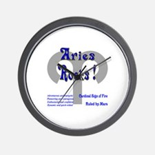 Aries Rocks ! Wall Clock