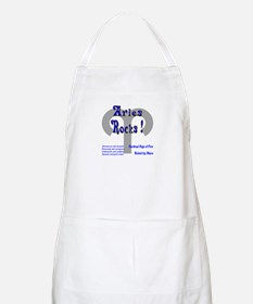 Aries Rocks ! BBQ Apron