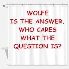 wolfe Shower Curtain