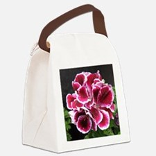 GERANIUM FLOWER~Regal Picotee~ Canvas Lunch Bag