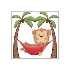 Lazy Monkey Sticker