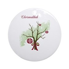 Chrismukkah Ornament (Round)