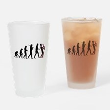Saxophone Player Evolution Drinking Glass