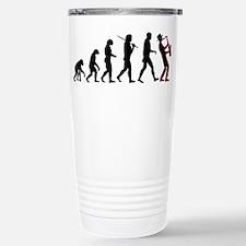 Saxophone Player Evolution Travel Mug