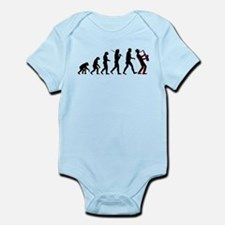 Saxophone Player Evolution Infant Bodysuit