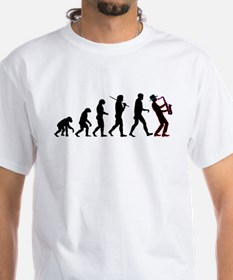 Saxophone Player Evolution Shirt