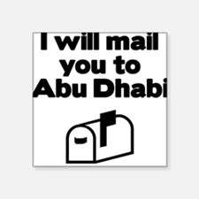 Abu Dhabi Rectangle Sticker