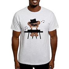 Piano playing bear T-Shirt