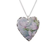 Magnolias (w/c) - Necklace