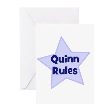Quinn Rules Greeting Cards (Pk of 10)