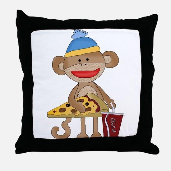 Unique Pizza Throw Pillow