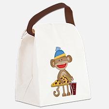 Unique Snacks Canvas Lunch Bag