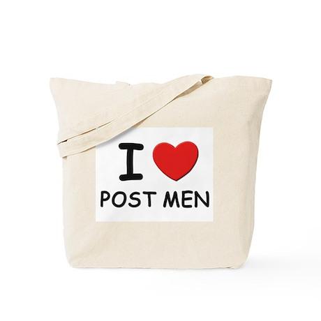 I love post men Tote Bag
