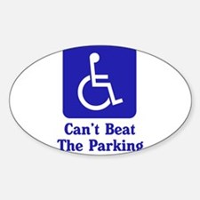 Can't Beat the Parking Rectangle Decal