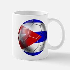 Cuban Soccer Ball Mug