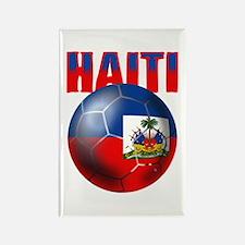 Haitian Football Rectangle Magnet