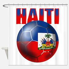Haitian Football Shower Curtain