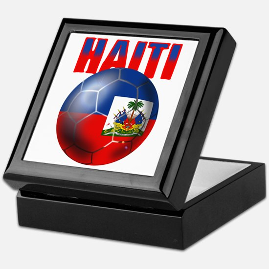 Haitian Football Keepsake Box