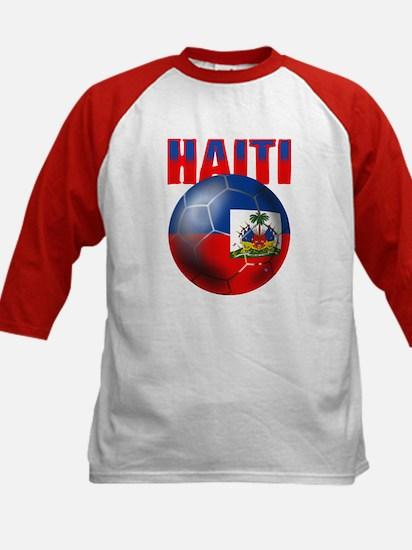 Haitian Football Kids Baseball Jersey
