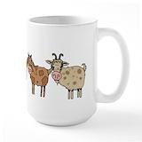 Goat Large Mugs (15 oz)
