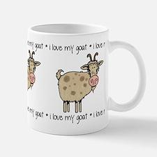 i love my goat Mug