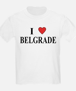 I Love Belgrade Kids T-Shirt