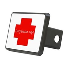 Corpsman Up Cross Hitch Cover