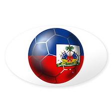 Haiti Soccer Ball Decal