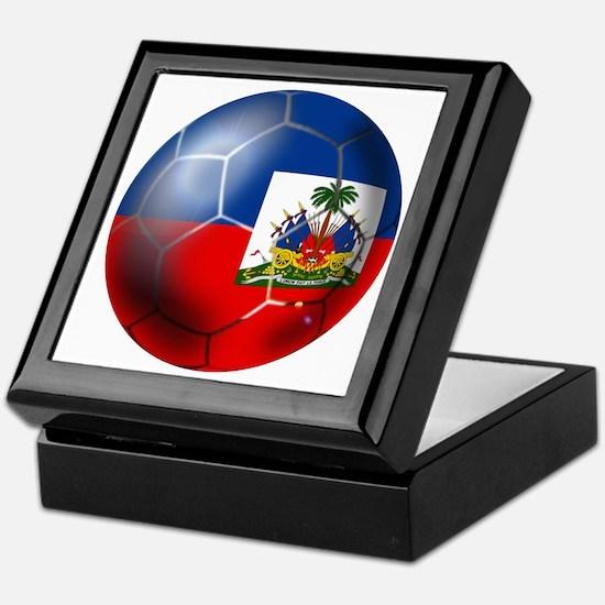 Haiti Soccer Ball Keepsake Box