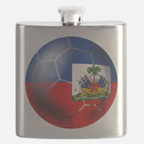 Haiti Soccer Ball Flask