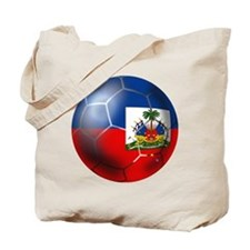 Haiti Soccer Ball Tote Bag